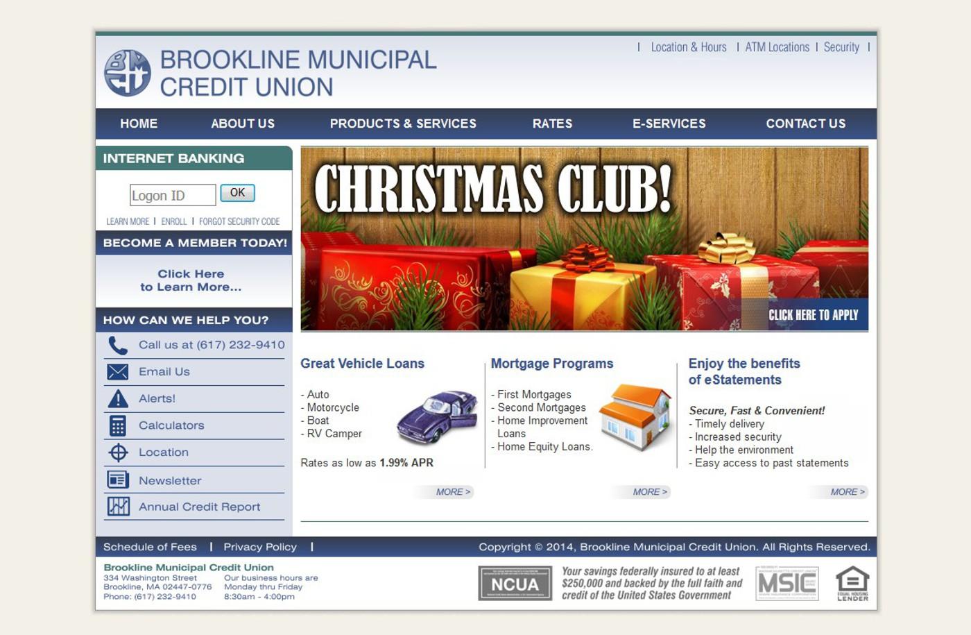 Brookline Municipal CU